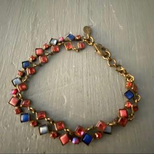 Sorrelli Crystal Double Strand Bracelet